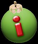 alphabet-boule-noel-vert-i